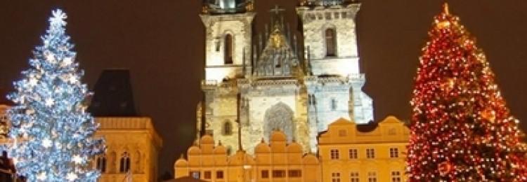Рождественский тур в Прагу с посещением Варшавы и Дрездена