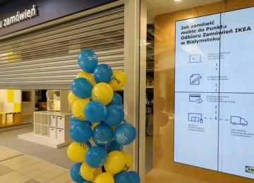 Пункт выдачи IKEA открылся в Белостоке