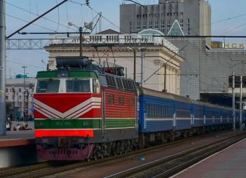Поезд Минск-Варшава