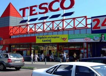 Супермаркет Tesco в Белостоке