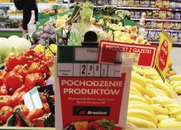 Супермаркеты в Польше будут отдавать непроданные товары на благотворительность