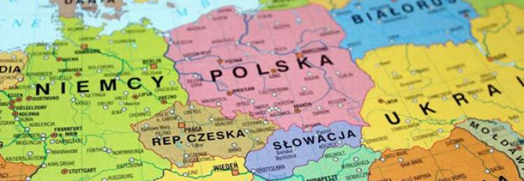 Cкакими странами граничит Польша
