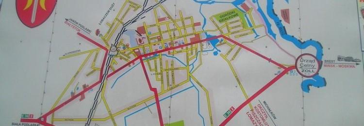 Карта Тересполя