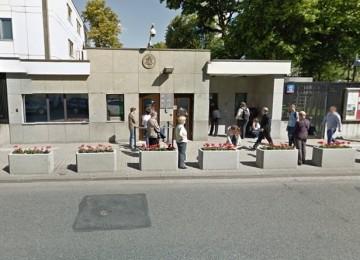 Посольство США в Варшаве