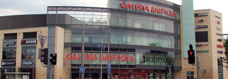 Галерея Балтийская в Гданьске