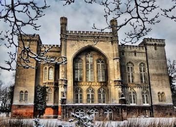 Замок Курник в Польше