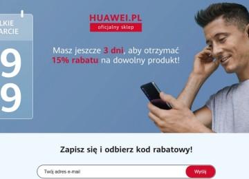 Открытие официального интернет-магазина Huawei в Польше