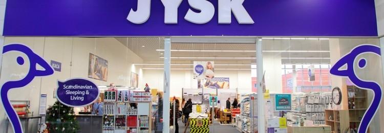 JYSK в Белостоке: магазин товаров для дома и интерьера