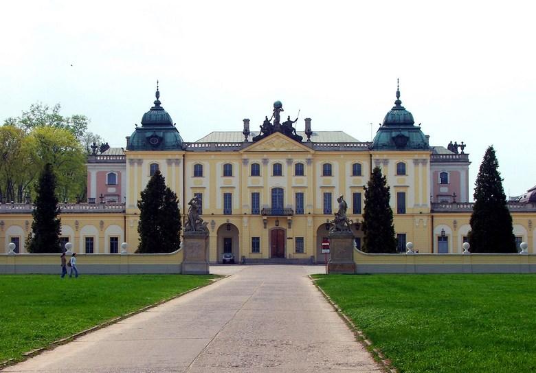 Дворец Браницких в Белостоке