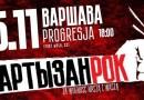 Концерт Брутто (Ляписа) в Варшаве 2016