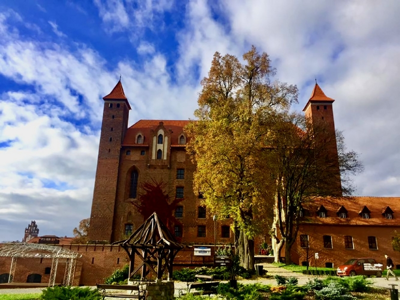 Замок Гнев, Польша