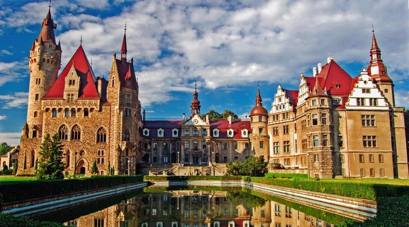 Самые красивые замки Польши