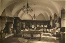 Кривая комната, некогда кабинет Иоанна Генриха XV, замок Ксенж
