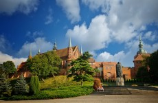 Замок Фромборк и памятник Копернику
