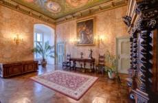 Гостиная в стиле Барокко, замок Ксенж