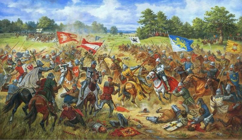 Грюнвальдская битва, 1410 год