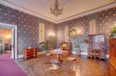Игровая комната, замок Ксенж, Польша