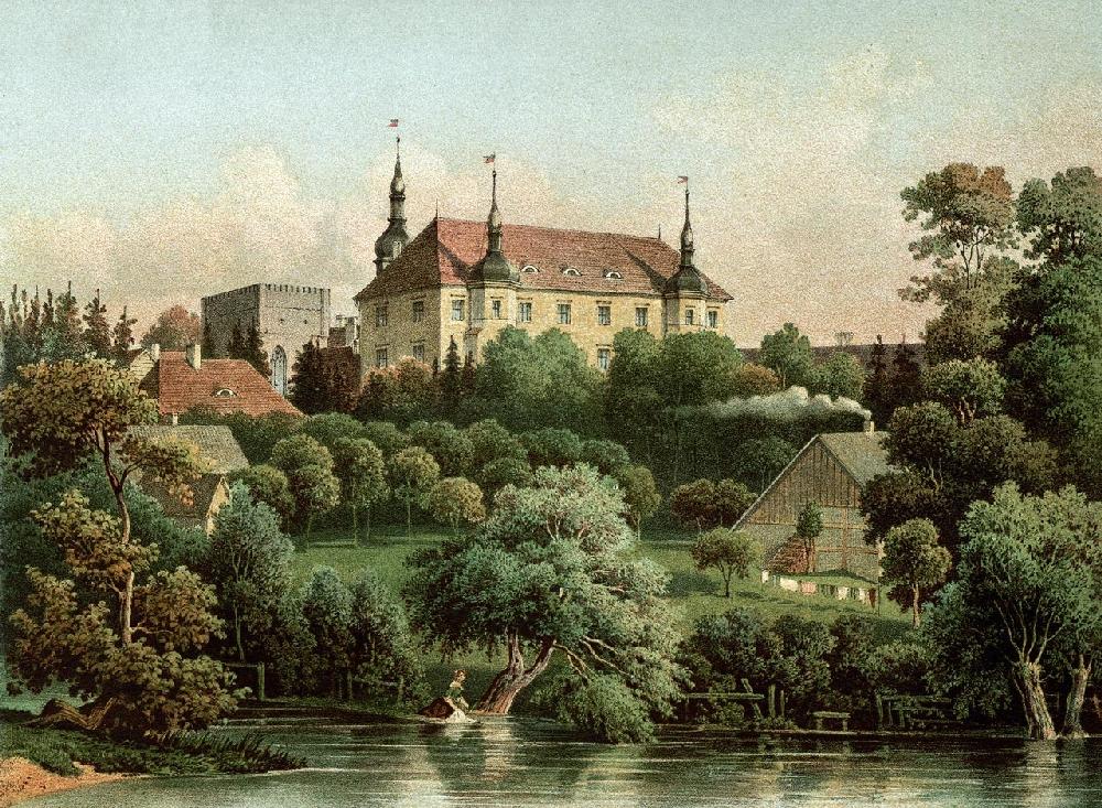 Замок Кличкув, 1920 год