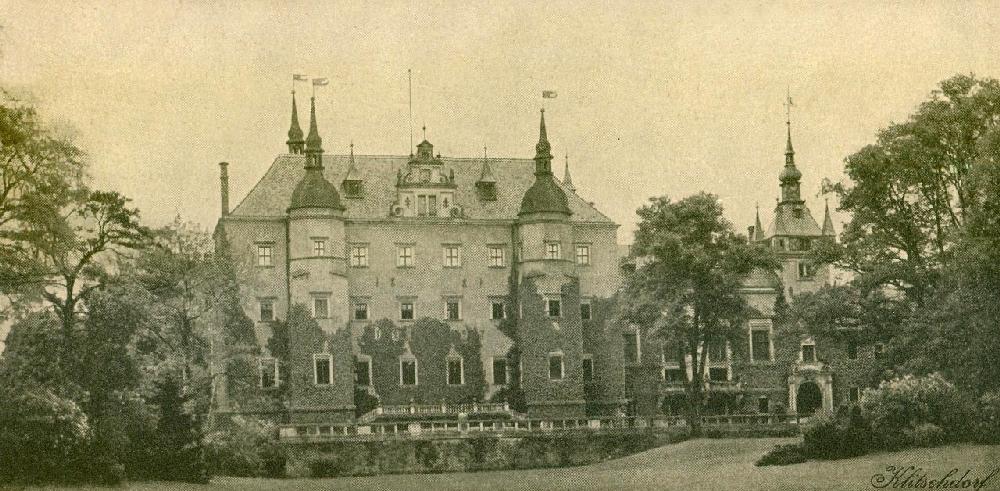 Замок Кличкув, Польша, 1900 год