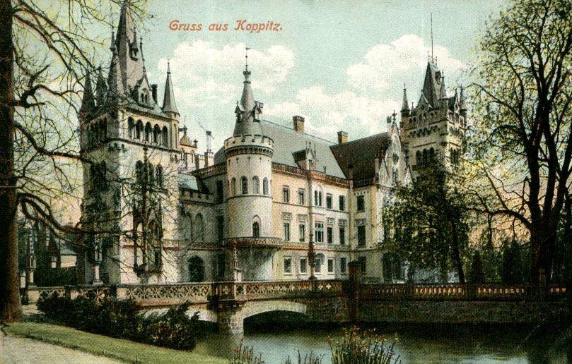 Замок в Копице до пожара