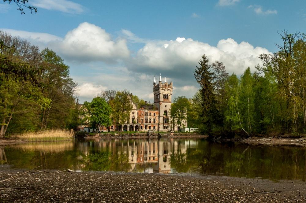 Замок в Копице сегодня
