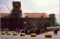Реконструкция Королевского замка в Варшаве, 1974 год