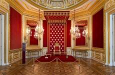 Внутренние залы королевского дворца в Варшаве
