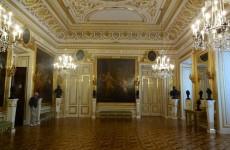 Внутренние убранства замка в Варшаве, Польша