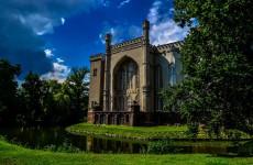Замок в Курнике в Польше