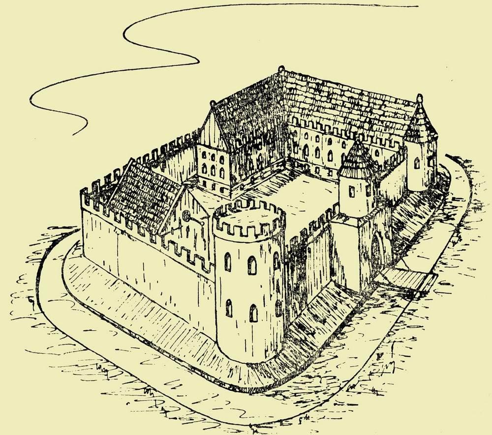 Замок Курник, Польша