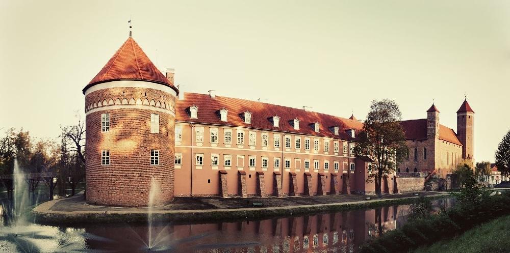 Замок Коперника в Польше