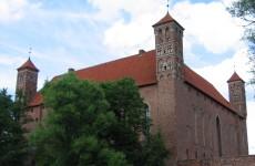 Замок в Лидзбарк Варминьском, Польша