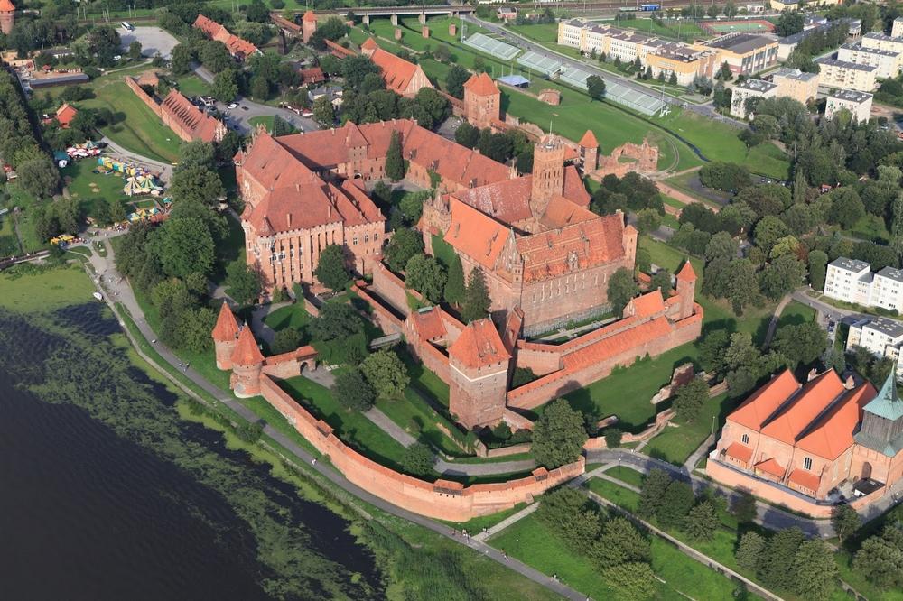Замок Мальборк в наши дни