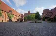 Мальборкский замок в Польше