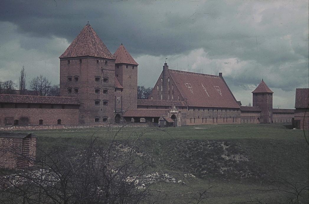Замок в Мальборке, 1939 год