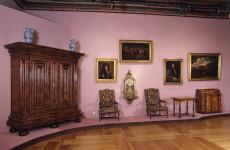 Экспозиция музея в замке Пескова Скала в Польше