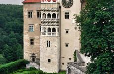 Двойные лоджии в стиле маньеризма, замок Пескова Скала, Польша