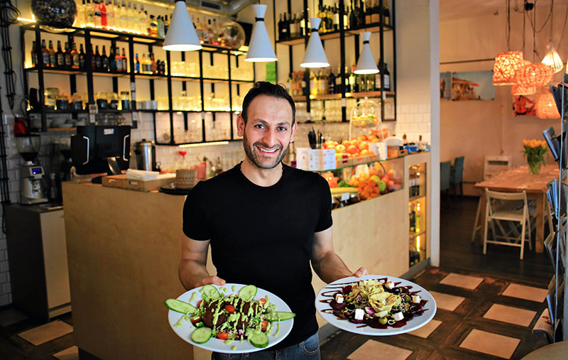 Веганский ресторан Tel Aviv, Варшава