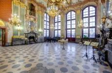 Зал Максимильана, замок Ксенж, Польша