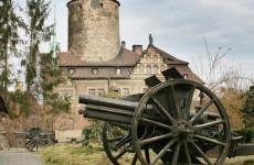 Польский замок Чоха