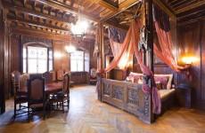 Номер в отеле замка Чоха, Польша