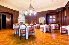 Ресторан в отеле замке Чоха, Польша