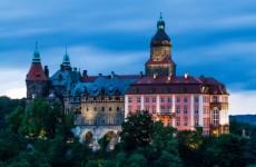 польский замок Ксенж