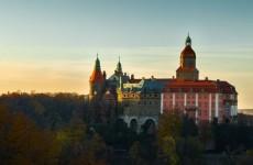 Ксенж на закате, Польша