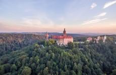 Валбжих, замок Ксенж, Польша