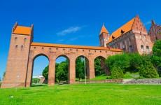 Квидзын: замок Тевтонского ордена в Польше