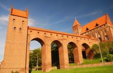 Замок Тевтонского ордена в Квидзыне
