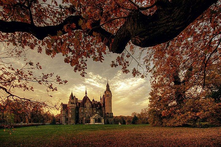 Замок Мошна и парк