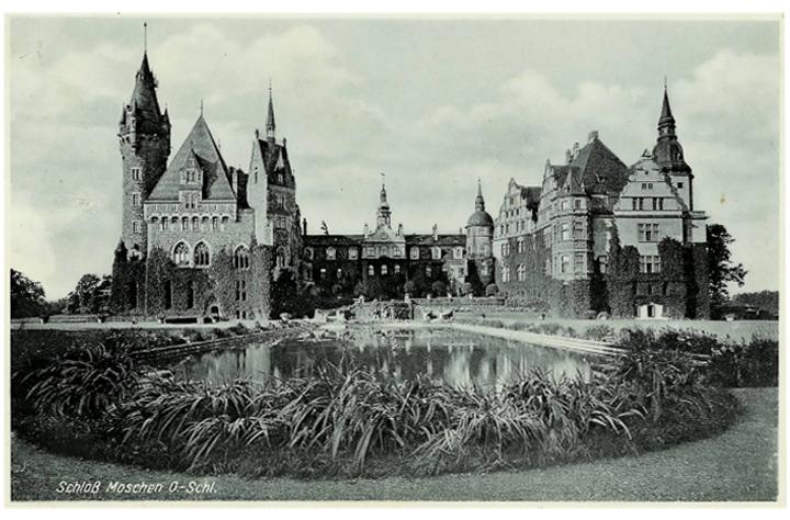 Замок в Мошне, 17 век