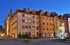 Замок Тевтонского ордена Рын в Польше